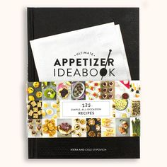 Ultimate Appetizer Ideabook is a cook's gold mine. Filled with updated classics, modern-day ...