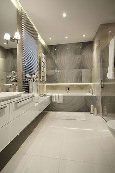 Bathroom Design Luxury, Bathroom Layout, Modern Bathroom Design, Interior Design Kitchen, Bathroom Ideas, Bathroom Cabinets, Bathroom Vanities, Washroom, Bathroom Designs