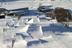 Perisher summer snowpark 💙
