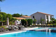 #Hotel de #luxe avec #piscine dans le #Gard à Barjac près de l' #Ardeche. #paradis #relax #chic