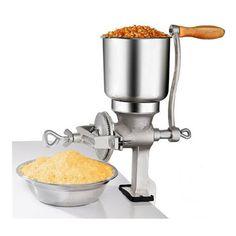 Corn milling machine grain crusher manual maize peanut coffee cocoa beans grinder #Affiliate