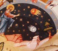 Astrology is Astrolatry: Christian view on Astrology Orthodox Icons, Spiritual Art, Byzantine Art, Medieval Art, Painting, Art, Medieval Paintings, Christian Art, Sacred Art