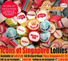 #iconsofsingapore #sg50 #singlish #handmade #candy by #LollyTalk