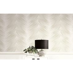Seabrook Wallpaper CR60700 - Carl Robinson 14-Milan - Texture stripe design wallcovering in a detail room photo