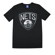 BIG  TALL NBA Mens BROOKLYN NETS Athletic Short Sleeve T Shirt 2XL Black -- Be sure to check out this awesome product.