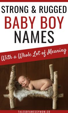 Strong baby boy names with strong meanings. Short, masculine, unique, and biblical baby boy names that all have a strong meaning. Check out this list to find the perfect strong name for your baby boy. One Syllable Boy Names, Country Boy Names, Scandinavian Names, Welsh Names, Strong Boys Names, Names With Nicknames, Vintage Baby Names, Biblical Names, Cool Names