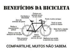 """Benefícios da Bicicleta  Pedalar além de ser prazeroso traz números benefício à nossa saúde por isso """"bora pedalar!""""    Tem ótimas ofertas de bikes to link abaixo.   Confira  .http://compre.vc/s/464dc70d  # borapedalar #fazbemàsaude #amobike"""