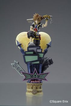 Kirin Hobby : Kingdom Hearts Formation Arts vol 3 Sora Figure by Square Enix 662248808246