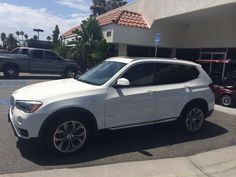 SOLD 2015 BMW x3 in Alpine White! Client Advisor Mike Barrow.