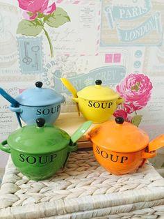 Soup Mug and Spoon