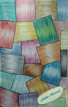 Retângulos riscados (Mindfulness - pag. 31) (Emma Farrarons)