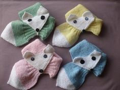 Echarpe enfant p'tit renard Knitting Projects, Knitting Patterns, Bow Scarf, Granny Square Crochet Pattern, Neck Warmer, Shawl, Diy And Crafts, Bows, Cowls