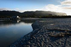 Okarito jetty