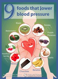 9 foods that lower blood pressure
