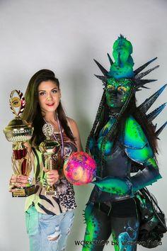 бутафорский костюм из  Eva foam и Worbla для Lash чемпионата