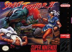 Framed Super Nintendo Game Print  Street Fighter 2 (Capcom Arcade Classic Art) #ebay #Home & Garden