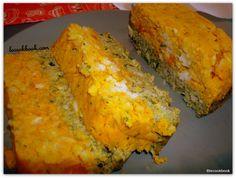 Terrina bicolor de zucchini y zanahoria | Le Cookbook