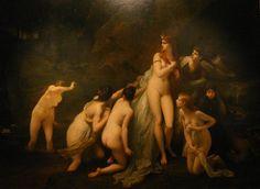 Jules Lefebvre - Diana surpris