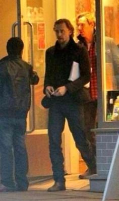 Imagine being out at the cafe and then all of a sudden you realize Benedict Cumberbatch and Tom Hiddleston are there too. *this is how I died*