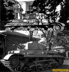 Turán at rest. Tank Destroyer, Defence Force, Armored Vehicles, World War Ii, Military Vehicles, Ww2, Techno, Armour, Rest