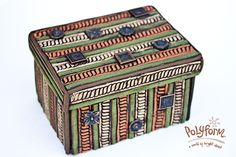 Souffle covered box by syndee holt