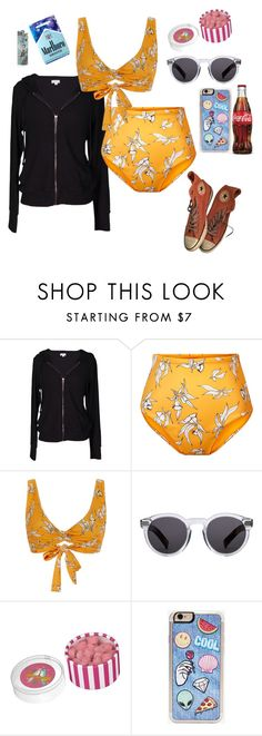 """""""Beach Vibes"""" by disney-geek-forever on Polyvore featuring Velvet by Graham & Spencer, Camp Cove, Illesteva, Zero Gravity and Converse"""