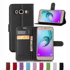 Super PU Leather Coque Carcasa For Samsung Galaxy J5 2016 j510 J5100 Flip Case Genuine Housing fundas With Back Shell Cover