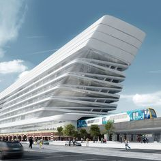 Flinders Street Station by Zaha Hadid Architects and BVN Architecture