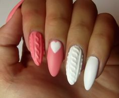 3D Knitted Nail Art Tutorial | AmazingNailArt.org