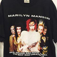 Vintage Marilyn Manson Tour T-Shirt