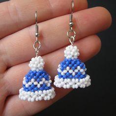 Beaded Bracelets Tutorial, Earring Tutorial, Seed Bead Bracelets, Beaded Earrings Patterns, Jewelry Patterns, Jewelry Ideas, Bead Crochet Patterns, Beading Patterns, Loom Patterns