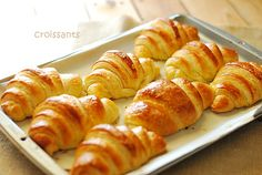 Just another day .: Croissants