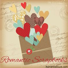 Learn the basics of scrapbooking to help you create a romantic gift album for yourself or your partner. - https://www.romancestuck.com/love-crafts/scrapbookintro.htm #RomanceStuck