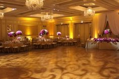 Four Seasons Chicago Wedding Lighting with Pattern Projection, Pinspots and Uplights Chicago Wedding Venues, Unique Wedding Venues, Wedding Lighting, Event Lighting, Four Seasons, Photo Galleries, Candles, Pattern, Beautiful