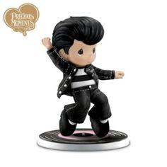 Precious Moments Elvis Presley Figurine: Jailhouse Rock