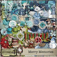 Merry Memories Scrap Kit