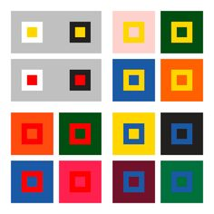 From the book 'The Art of Color', Johannes Itten 1961
