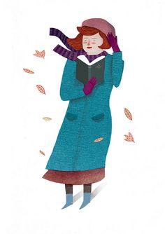 autumn read by Lizzy Stewart, via Flickr