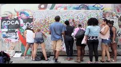 Color in the City. On Friday, June 21st Ernest M English installed a giant paint-by-number canvas on a graffiti wall on Boston's Newbury Str...