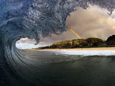 Awesome Picture  #calledtosurf #wave #rainbow #awesome