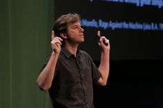 """""""Investing our humanity is the highest form of design."""" Matthew Butterick #typo12, Photo: Gerhard Kassner"""