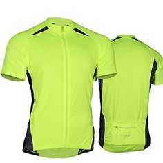 9225c3225 FIOLLA CycloDri Mens Cycling Jersey Neon Hi Viz XS 34 Chest     Click image  to review more details.(It is Amazon affiliate link)  FunCycling