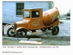 this pinner s remark: I didn t carry out . The Best TT Ford Cement truck; this pinner s remark: I didn t carry out . The Best TT Ford Cement truck; this pinner s remark: I didn t carry out . Antique Trucks, Vintage Trucks, Antique Cars, Antique Tractors, Mercedes Auto, Cool Trucks, Big Trucks, Cool Cars, Tesla Roadster