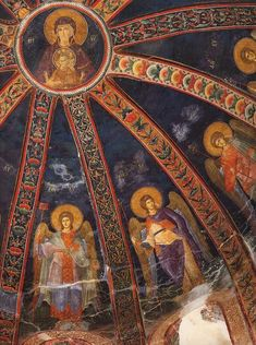 About relics, reliquaries, religion and art Byzantine Icons, Byzantine Art, Religious Icons, Religious Art, Fresco, Tempera, Christian Artwork, Biblical Art, Church Architecture