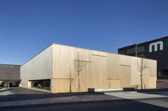 Sporthalle und Mehrzweckgebäude der Mittelschule Klaus-Weiler-Fraxern, Foto: Dietrich   Untertrifaller Architekten