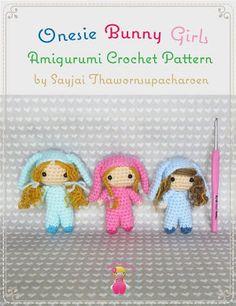 Onesie Bunny Girls Amigurumi Crochet Pattern - Google Play'de Kitaplar