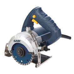 Wet Stone Cutter GMC 263288 hand-held circular saw with powerful 1250W motor, for cutting mineral materials such as marble...5024763125645