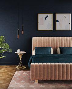 Essential Home Bett Sophia bei Villatmo.de | VILLATMO - Designer Möbel, Lampen & Accessoires