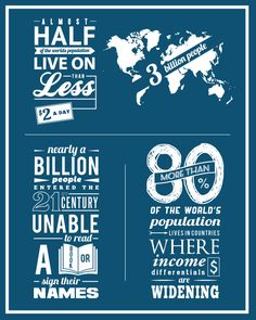 Competitive Analysis 4 | Poverty Infographic by Paul Burkhart