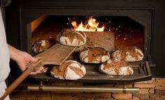 The secret to making beautiful artisan bread is to use very wet dough.